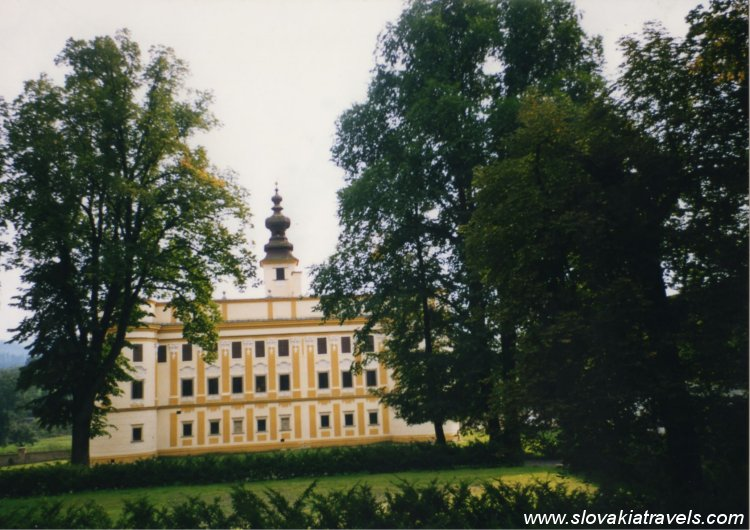 Markusovce Manor house