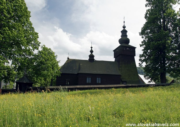The Wooden church in Fricka
