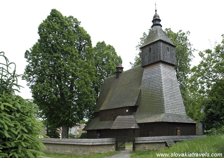 The Wooden church in Hervatov