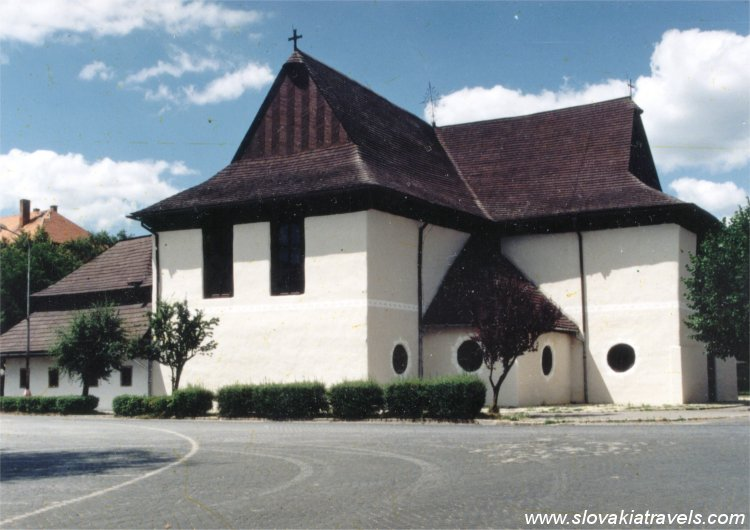 Kezmarok - the Wooden articular church