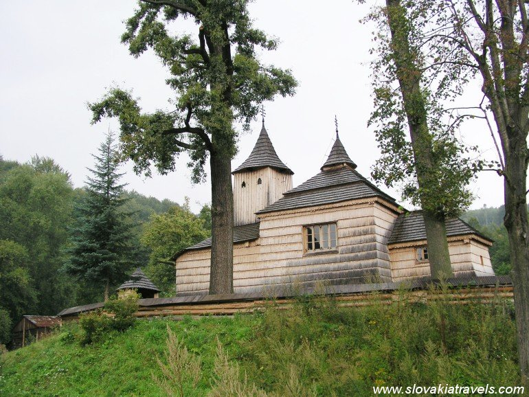 The Wooden church in Krajne Cierno