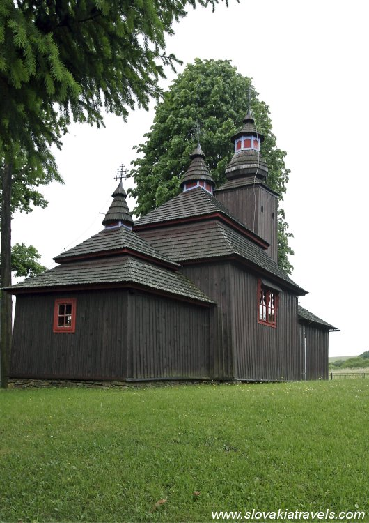 The Wooden church in Ladomirova