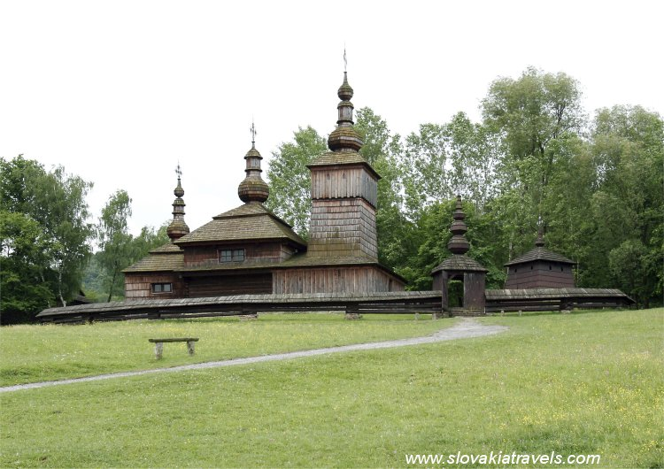 The Open Air Museum - The Wooden church in Nova Polianka