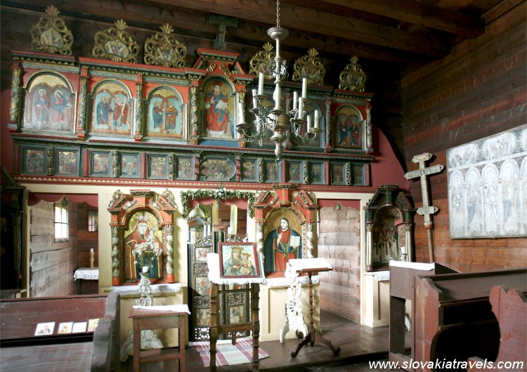 The Open Air Museum in Svidnik - The Wooden church in Nova Polianka