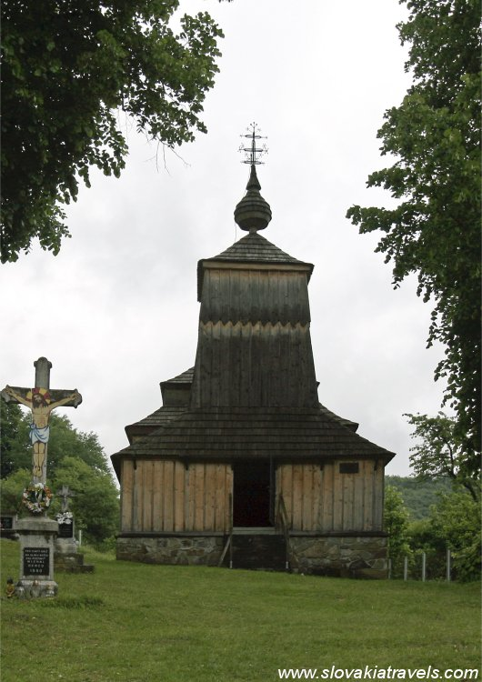 The Wooden church in Prikra
