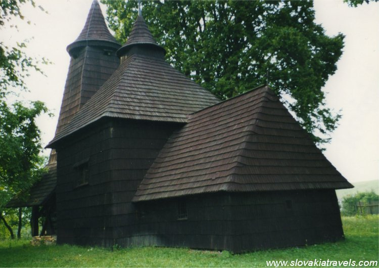 The Wooden church in Trocany