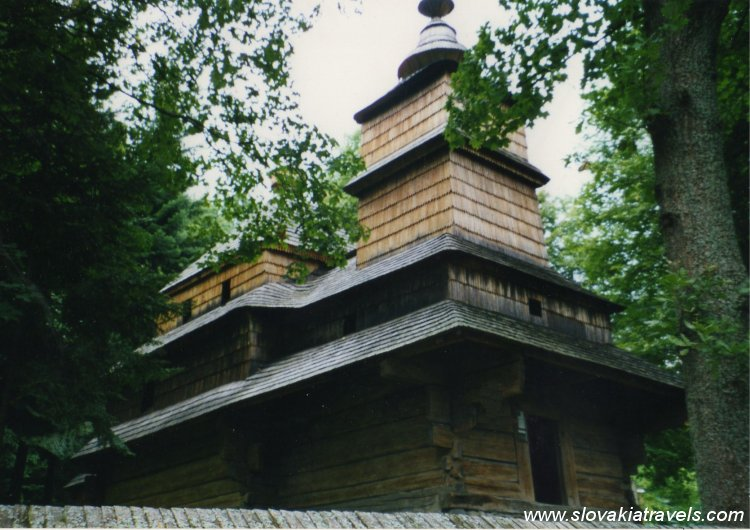 The Open Air museum of Bardejov Spa - The Wooden church of Zboj