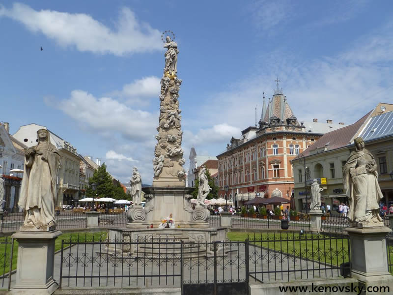 Kosice - The column of the Immaculate