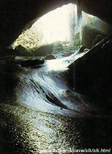 Silicka ladnica Ice Cave