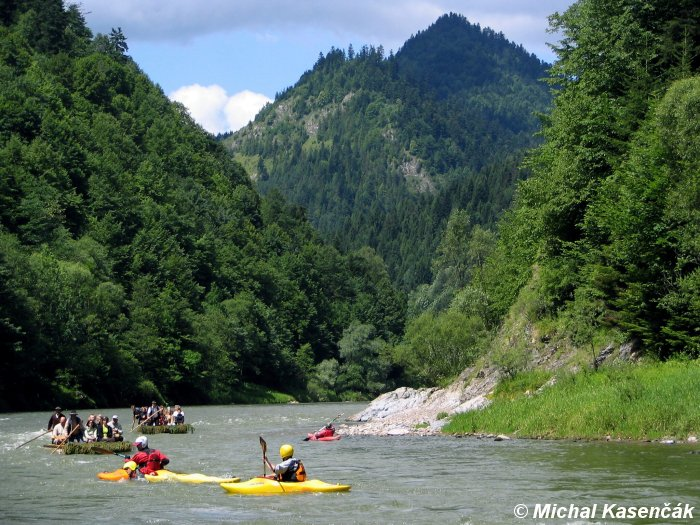 National park of Pieniny