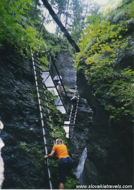 trekking - slovensky raj  slovak paradise